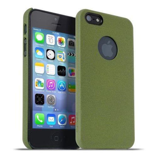Meliconi Etui Soft Sand iPhone 5/5s Military Green (8006023204083) Darmowy odbiór w 20 miastach! (8006023204083)
