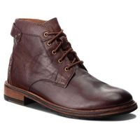 Clarks Kozaki - clarkdale bud 261277757 mahogany leather