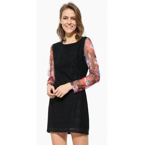 Desigual VEST PICHI Sukienka letnia black, letnia