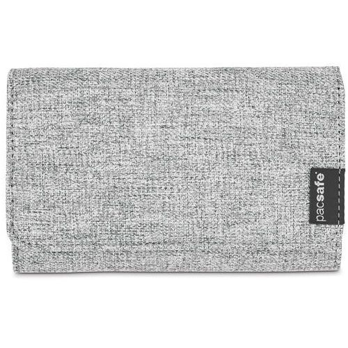 Pacsafe rfidsafe lx100 portfel damski / tweed grey - tweed grey