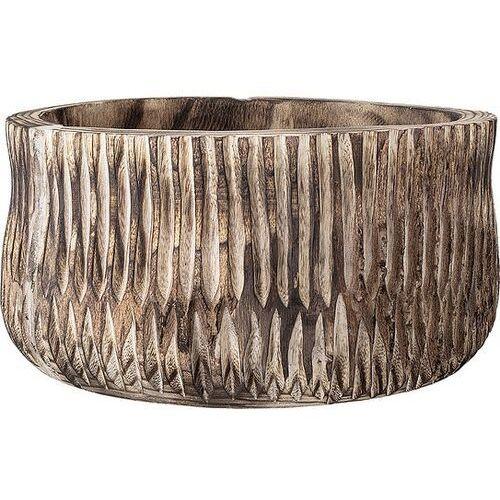 Bloomingville Osłonka na doniczkę 40 cm z drewna paulowni (5711173234998)