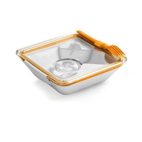 Black+Blum - pojemnik na posiłki Box appetit - pomarańczowy - pomarańczowy, kolor pomarańczowy