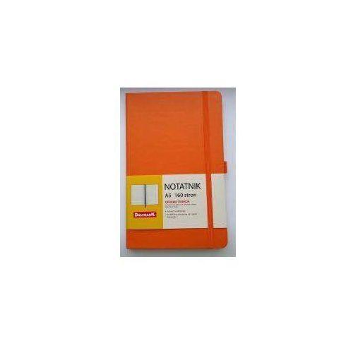 Dan-mark Notes a5/80 kratka roma pomarańczowy