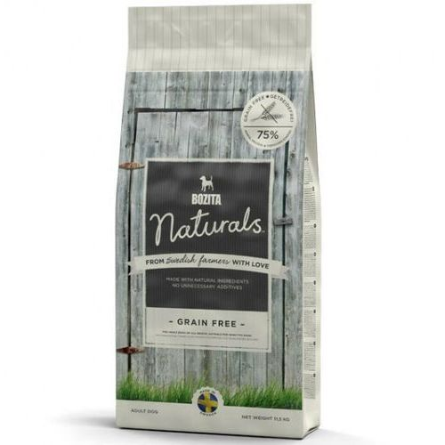 naturals grain free - bezzbożowa sucha karma dla psów, 950 g marki Bozita