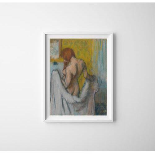 Vintageposteria.pl Plakat w stylu vintage plakat w stylu vintage kobieta z ręcznikiem edgar degas