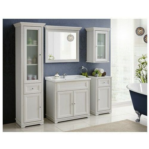 Komplet mebli do łazienki vermont 80 - shabby shic marki Producent: elior