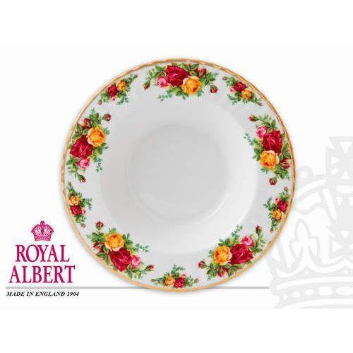 Talerz obiadowy głęboki 24cm - Old Country Roses