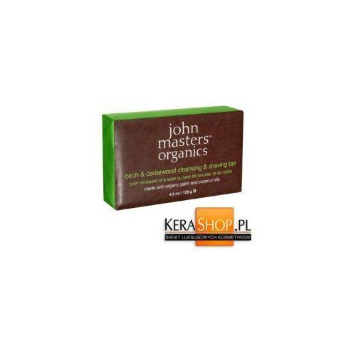 John Masters Organics Mydło Brzozowo-Cedrowe 128 g