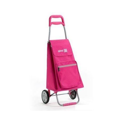 Torba na zakupy z kółkami argo różowa, marki Gimi