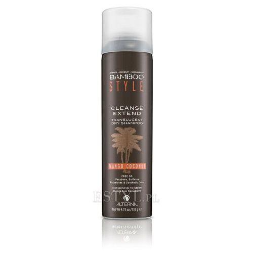 bamboo style cleanse extend mango coconut dry shampoo - suchy szampon 135g wyprodukowany przez Alterna