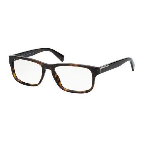 Okulary korekcyjne pr07pva asian fit 2au1o1 marki Prada