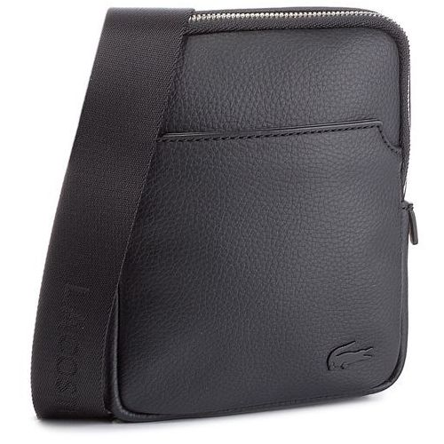 Saszetka LACOSTE - Small Flat Crossover Bag NH1739GL Black 000