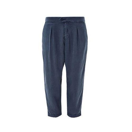 S.oliver spodnie damskie 38 niebieski