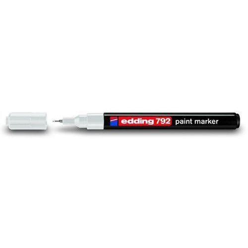 Edding Marker olejowy 792, biały, końcówka okrągła 0,8 mm - autoryzowana dystrybucja - szybka dostawa - tel.(34)366-72-72 - sklep@solokolos.pl (2247331110217)