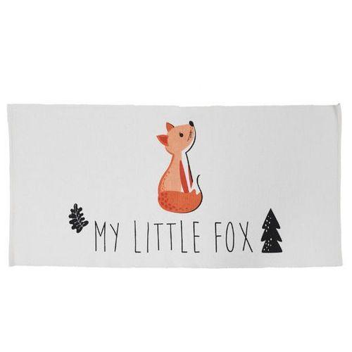 Vente-unique Dywan dziecięcy lis emiliano — 100% bawełny — 60 x 120 cm — biały