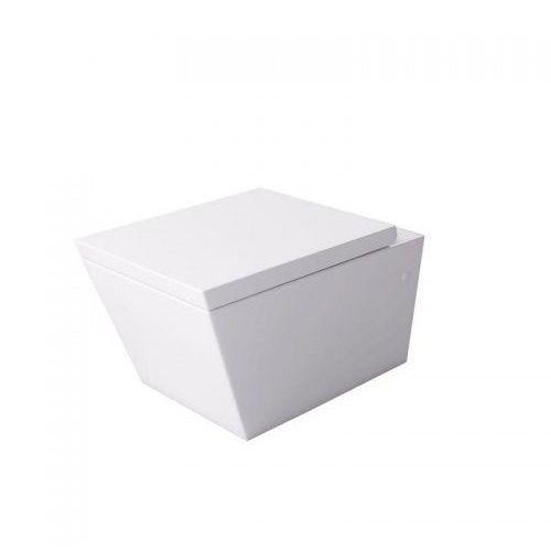 inglo miska wc wisząca z deską wolnoopadającą biała msm-2389du marki Massi