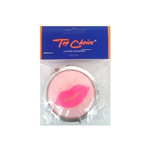 Top Choice Makijaż Lusterko kieszonkowe okrągłe -usta (85680) 1szt