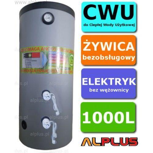 Alplus Elektryczny bojler 1000l 6kw (2 grzałki po 3kw lub inne do wyboru), ogrzewacz wody pionowy stojący, bezobsługowy, 1000 litrów, 210cm x 99cm, lub 250cm x 89cm, wysyłka gratis