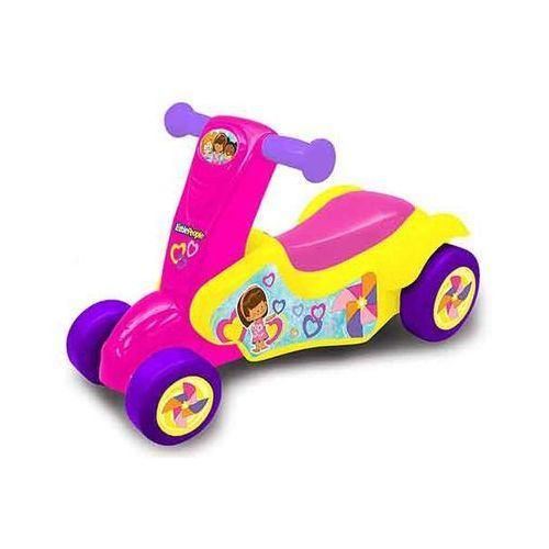 jeździk hulajnoga little people 2 w 1 marki Fisher price