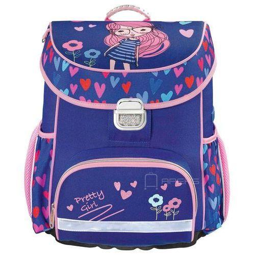 Hama tornister / plecak szkolny dla dzieci / pretty girl - pretty girl (4047443347473)