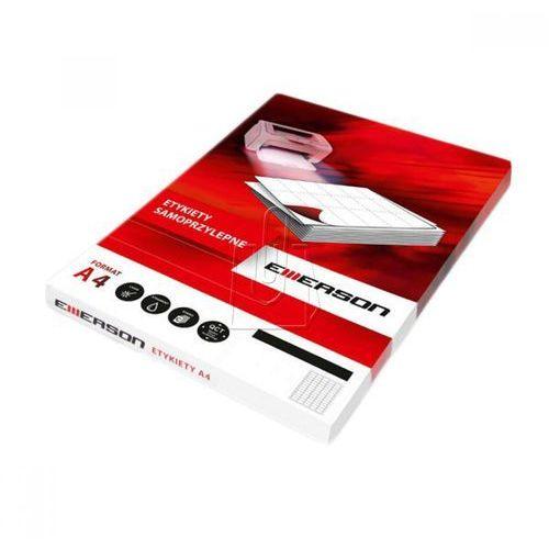 Etykiety samoprzylepne Emerson A4 CD/DVD (5902178074614)
