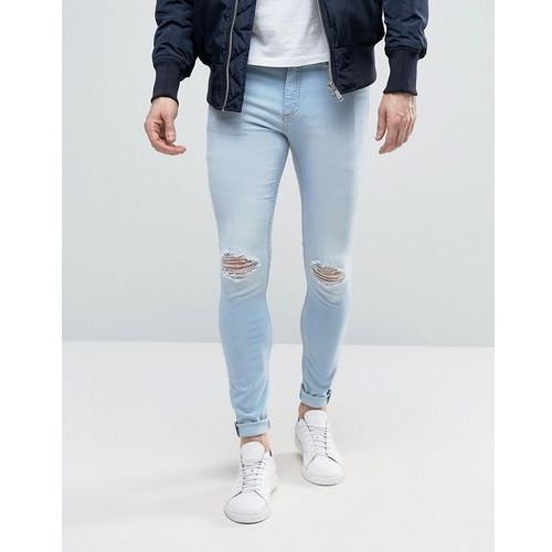 Cheap monday  him spray jeans rites wash - blue