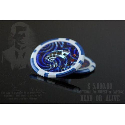 Żetony pokerowe Ocean 50 szt. z nominałem 10 (4025327324826)