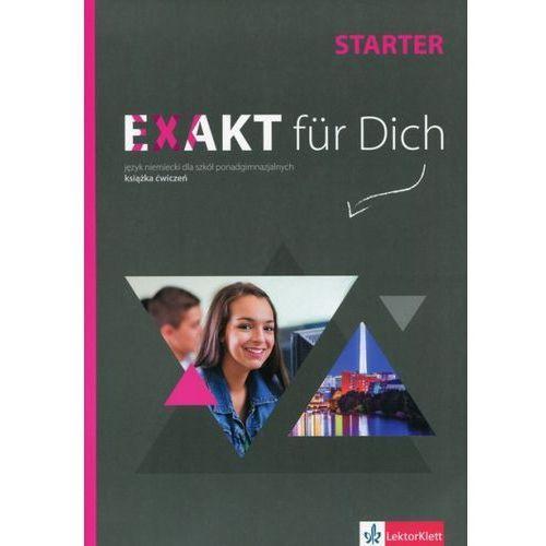 Exakt fur Dich Starter Książka ćwiczeń z płytą DVD + Zestaw ćwiczeń do filmów (80 str.)