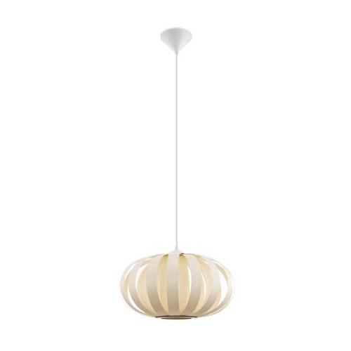 ARENELLA 32437 LAMPA WISZĄCA VINTAGE LOFT EGLO WOOD, kolor naturalny,