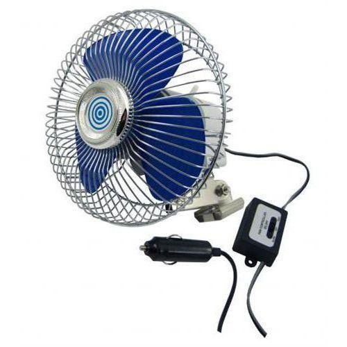 Wentylator wiatrak samochodowy metalowy duży 12v + darmowa dostawa | sklepy warszawa marki Carcommerce