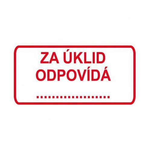 Plastikowa tabliczka na drzwi - za sprzątanie odpowiada marki B2b partner. Najniższe ceny, najlepsze promocje w sklepach, opinie.