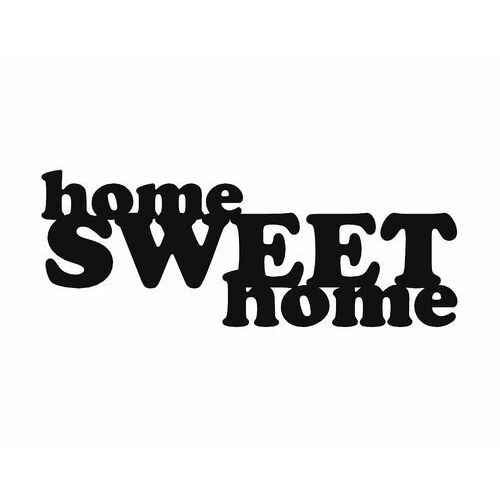 Metalowa dekoracja ścienna home sweet home marki Decoartimo