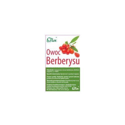 Flos Berberys owoc suszony 50g. Najniższe ceny, najlepsze promocje w sklepach, opinie.