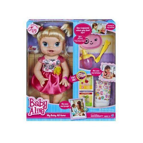 Baby Alive Moja Lala Robi Siusiu i Kupkę A7022 HASBRO - produkt z kategorii- Pozostałe lalki i akcesoria