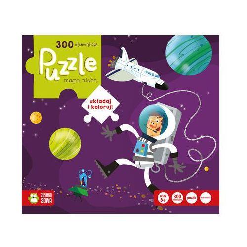 Puzzle 300 mapa nieba - marki Zielona sowa