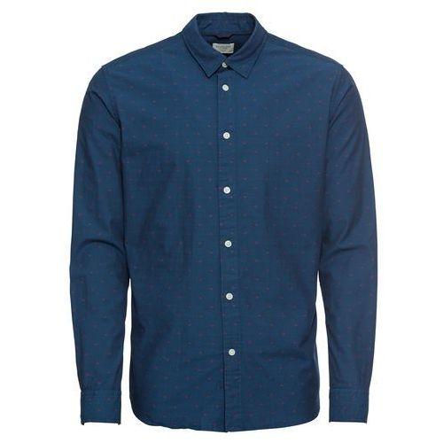 SELECTED HOMME Koszula biznesowa 'SLHSLIMMOONIE SHIRT LS W' ciemny niebieski (5713755361702)