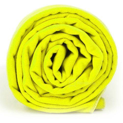 xl szybkoschnący ręcznik treningowy 70x140 cm / żółty - neon żółty marki Dr.bacty