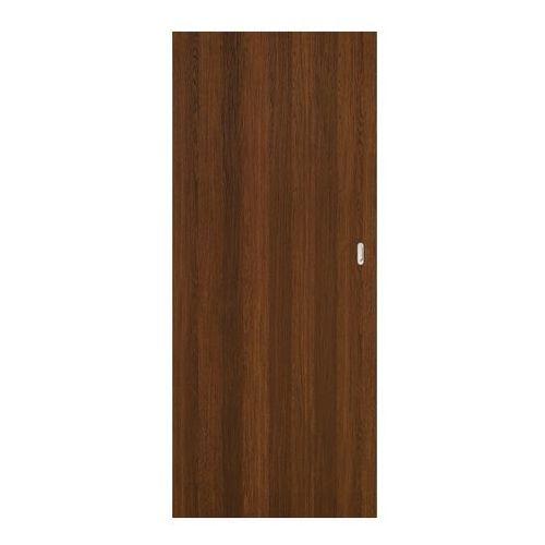 Drzwi pełne przesuwne Exmoor 80 bezfelcowe orzech north (5900378201120)