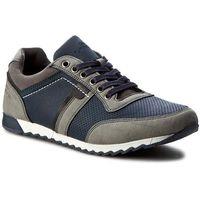 Sneakersy GINO LANETTI - M17SS144-2 Granatowy Szary, kolor szary