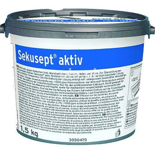 Środek do dezynfekcji instrumentów medycznych sekusept aktiv 1,5 kg marki Ecolab