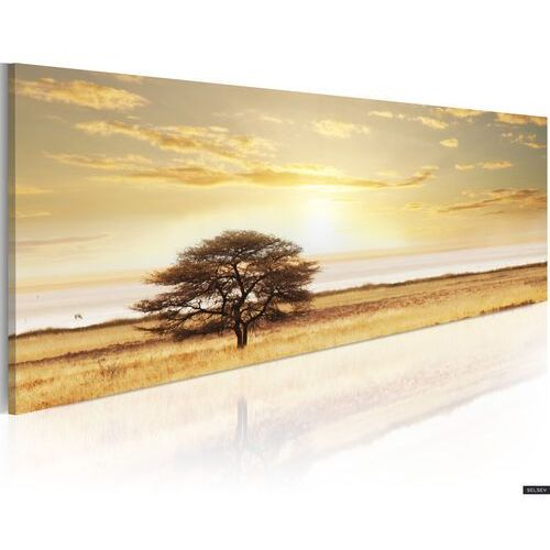 SELSEY Obraz - Lonely tree on savannah 120x40 cm (5902622534060)