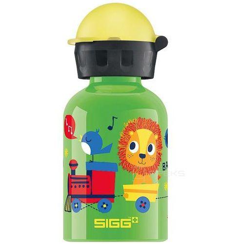 kids jungle train butelka / bidon 0.3l dla dzieci - jungle train marki Sigg