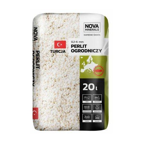 Nova minerals Perlit ogrodniczy 20 l 1-6 mm beżowy