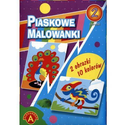 Piaskowe malowanki - kameleon, paw ALEX (5906018013993)