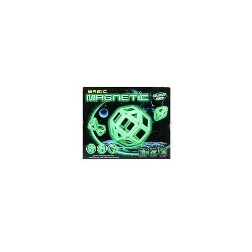 MC Klocki magnetyczne 26 elementów fluorescencyjne MEGA CREATIVE 419124
