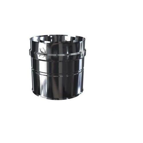 Adapter do kotłów gazowych kwasoodporny dwuścienny mkps 60/100 mm 2adps-g marki Mk żary