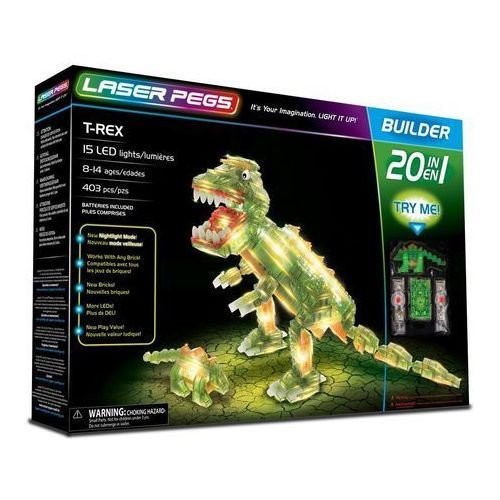 20 in 1 T-Rex - Laser Pegs