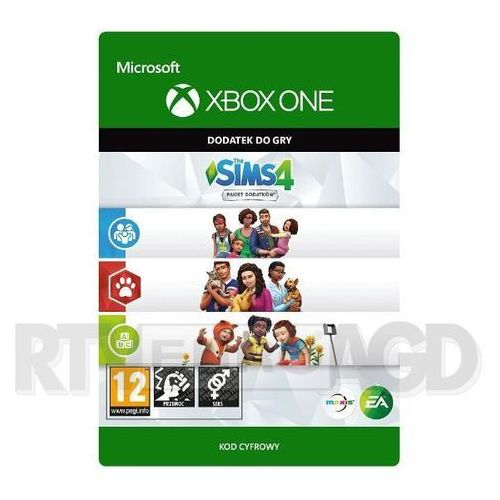 The Sims 4 - Pakiet Dodatków 2 DLC [kod aktywacyjny] Xbox One (8806188742044)