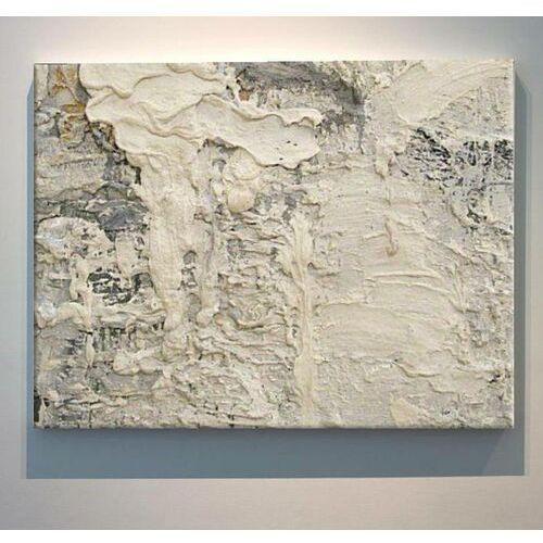 CREME ROCK - Wielkoformatowy obraz na płótnie abstrakcyjny art&texture™