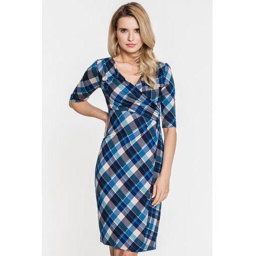 Kopertowa sukienka - Ryba, 1 rozmiar